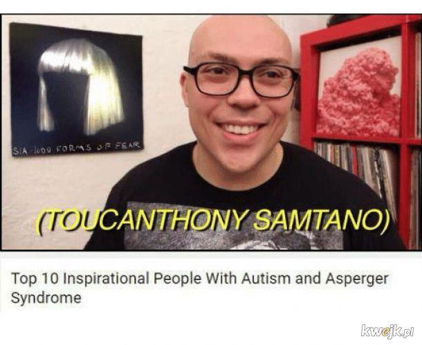 Wiedziałem, że Jordan z tym kiwaniem ma autyzm.