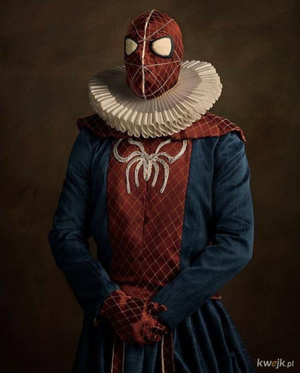 Sir Spider Man fot. Sachy Goldberg