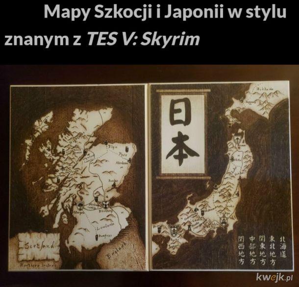Zbiór nietypowych map
