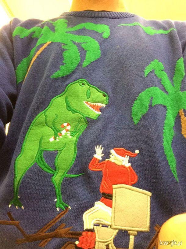 Ciekawe świąteczne sweterki