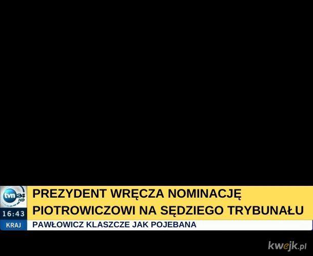 To była piękna nominacja!
