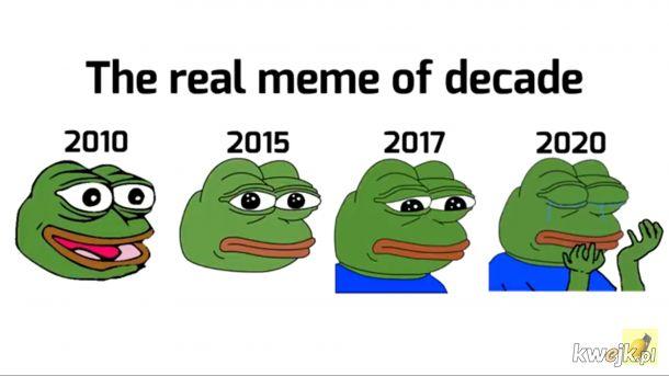 Mem na przestrzeni dekady