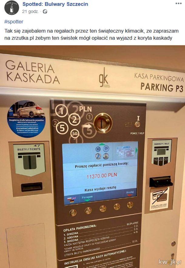 Opłata parkingowa