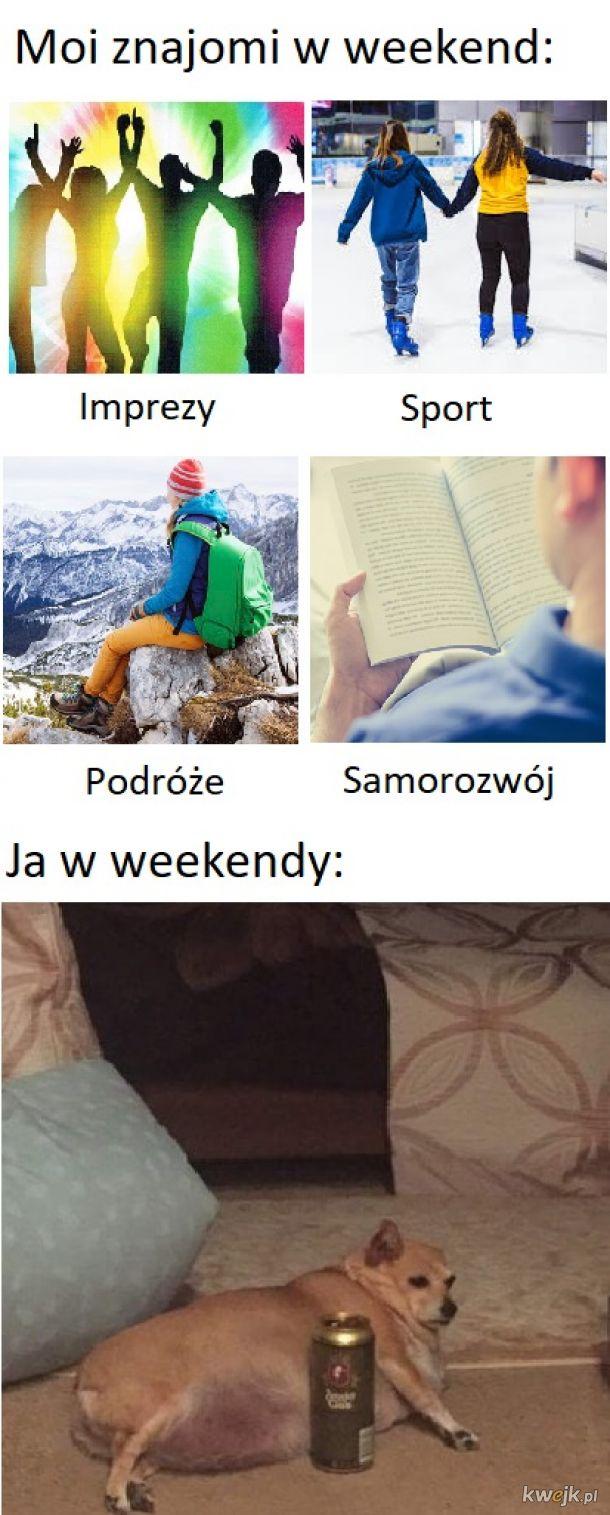 Produktywne weekendy
