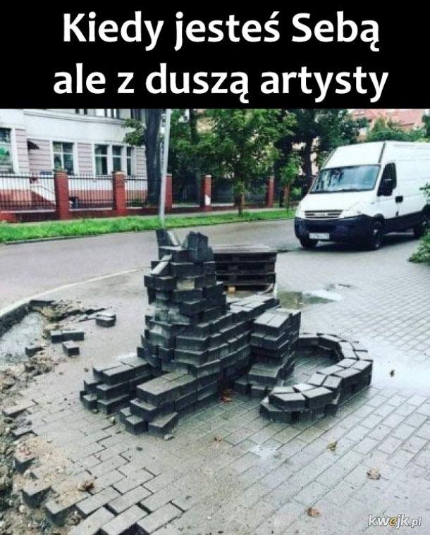 Dusza artysty