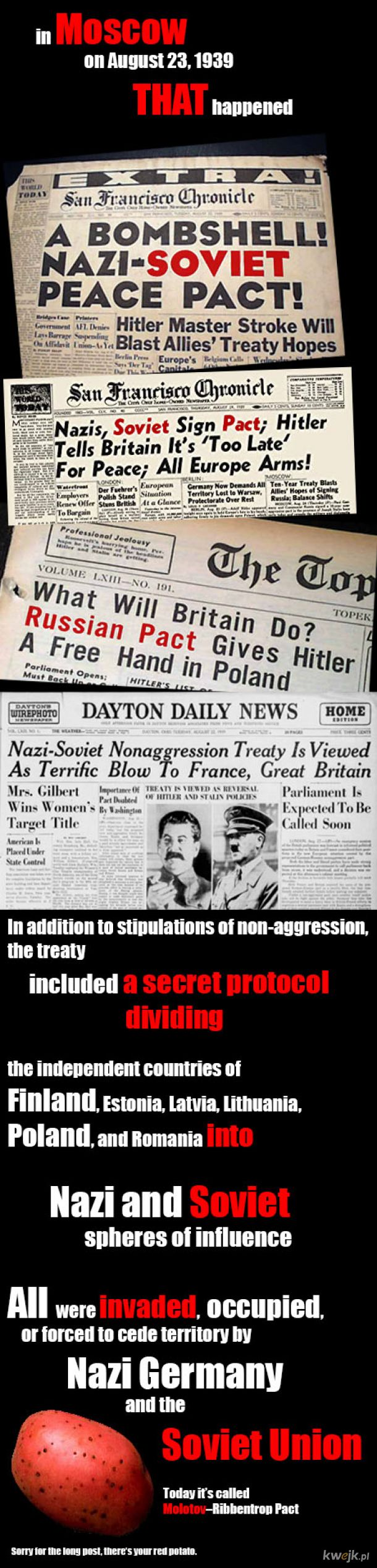 Know the Truth: 1939 Nazi-Soviet Pact