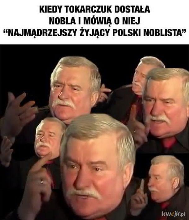 Tokarczuk i Wałęsa