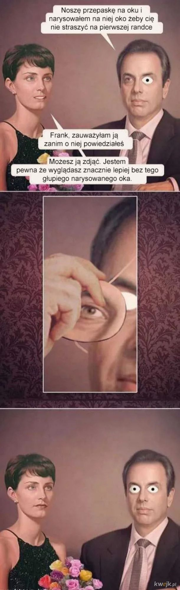 Przepaska na oku