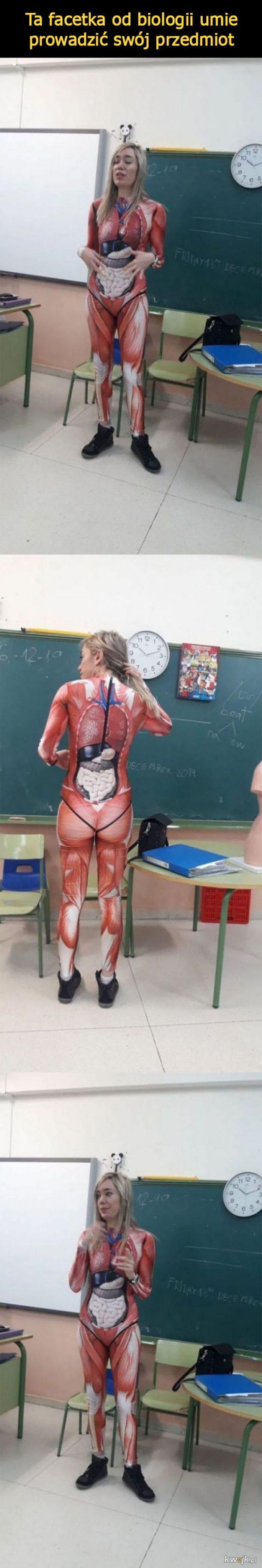 Taką biologię to ja mogę mieć
