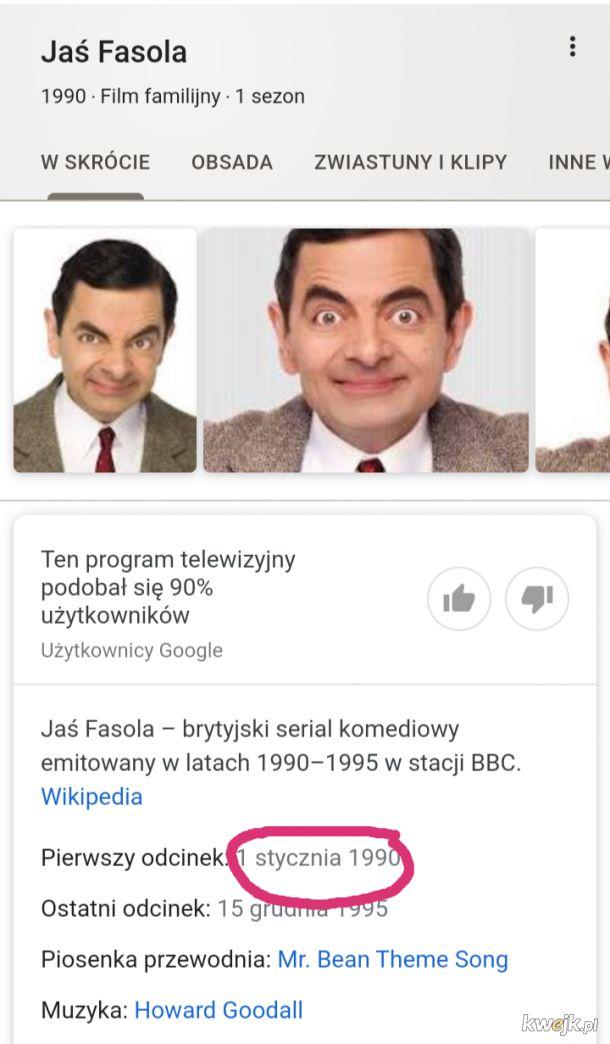 """Serial """"Jaś Fasola"""" (oryg. Mr. Bean) obchodzi swoje 30 urodziny"""