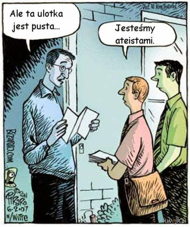 Ateiści ;P