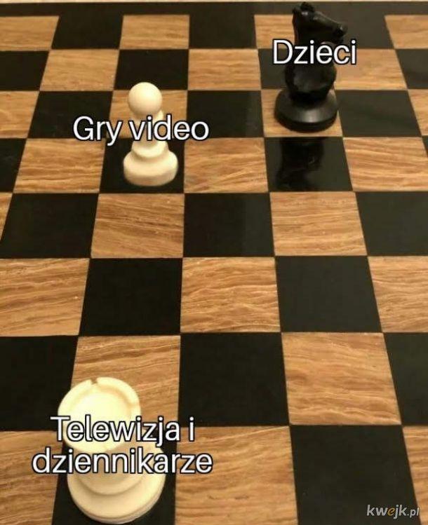 Granie w gry powoduje agresje