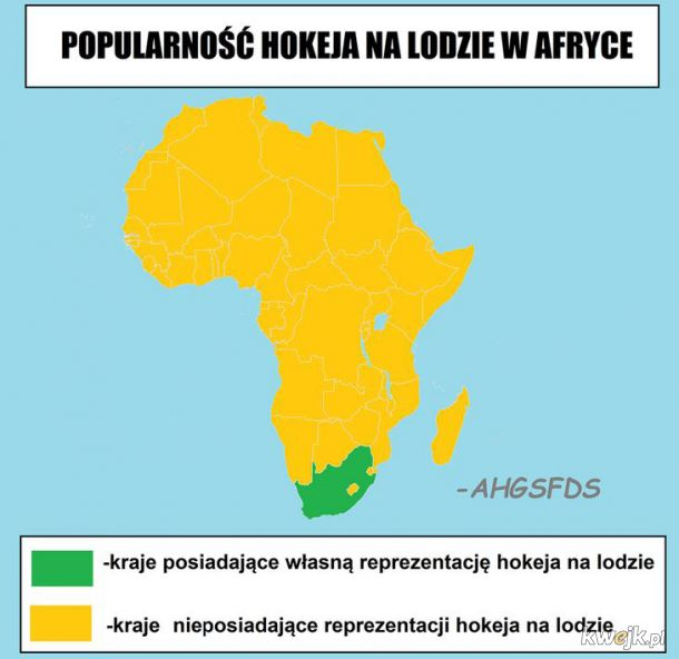 Hokej w Afryce