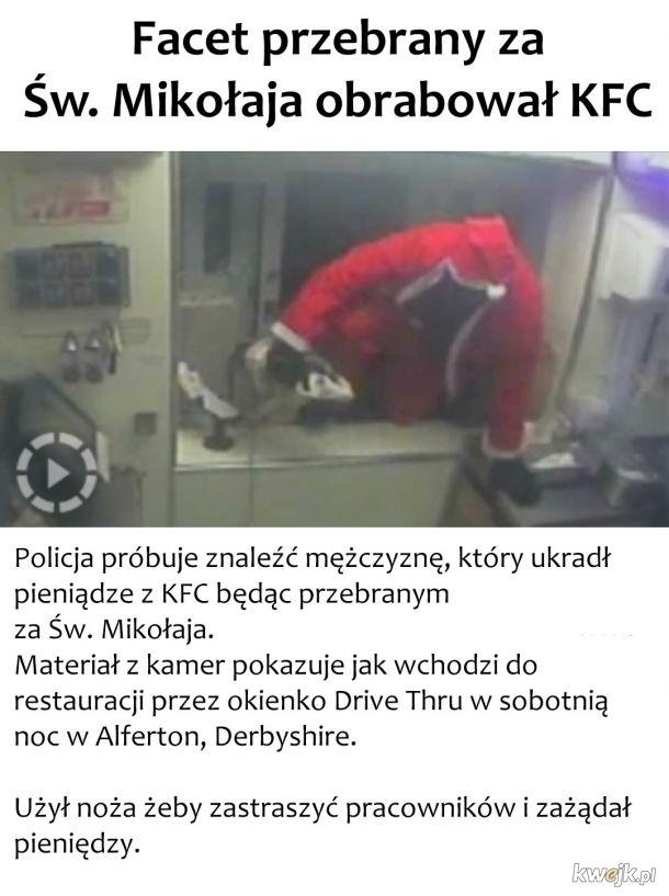Mikołaj rabuje
