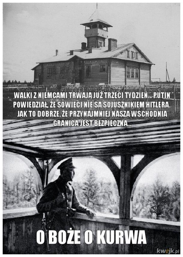 Świt 17 września 1939 w strażnicach Korpusu Ochrony Pogranicza.