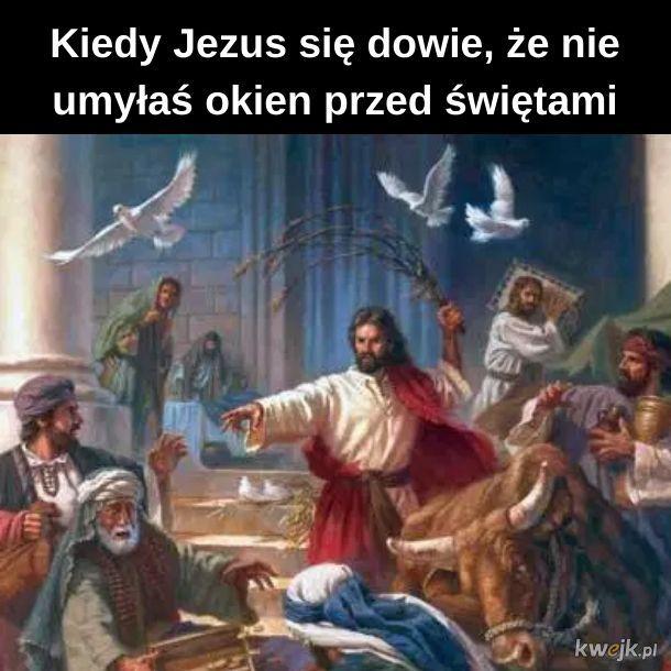 Jezus się zdenerwował