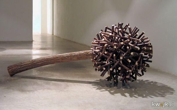 Rzeźby wykonane wyłącznie z naturalnych materiałów przez Fina Jaakko Pernu, obrazek 6