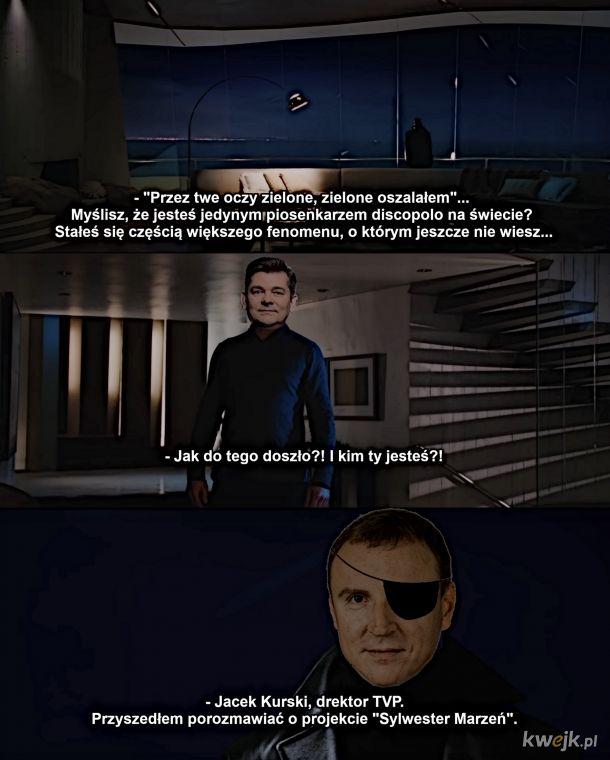 """Scena po napisach z filmu """"Zenek"""""""