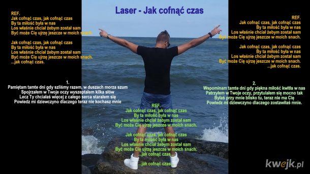 LASER - Jak Cofnąć Czas (Lyrics Card)
