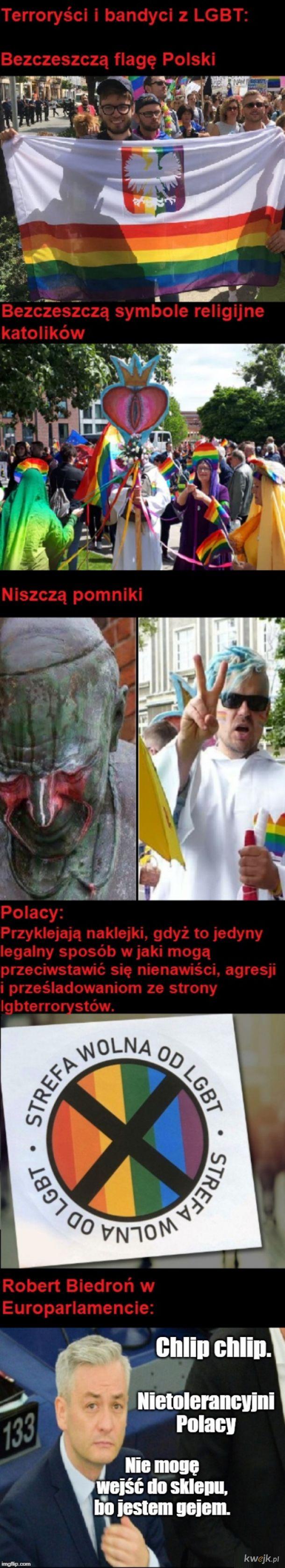 LGBT: Tolerować to nas, ale nie my