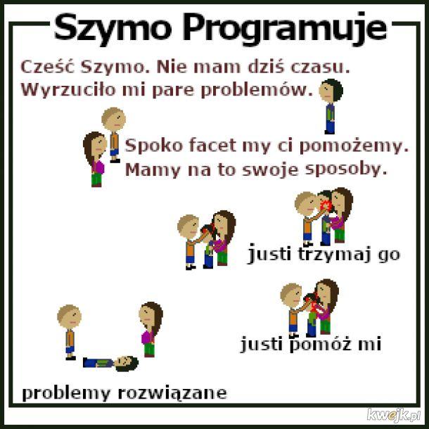 Szymo programista