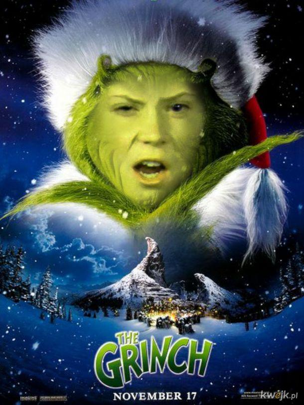 Grinch Thunberg- kiedy gwiazdka rujnuje dziciństwo.