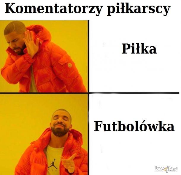 Piłka vs Futbolówka
