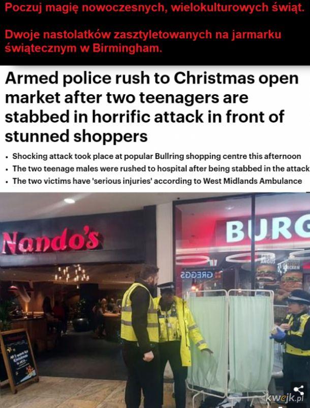 Nawet się dobrze święta nie zaczęły a tam już incydenty