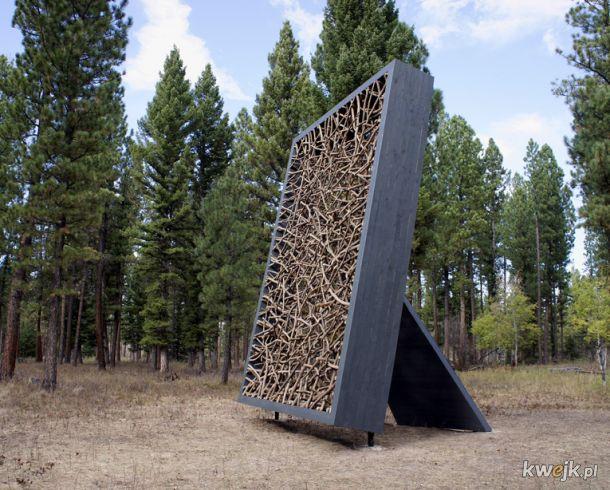 Rzeźby wykonane wyłącznie z naturalnych materiałów przez Fina Jaakko Pernu, obrazek 7
