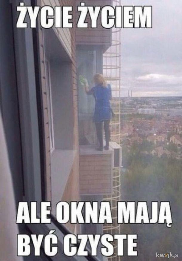 Pamiętajcie o oknach!