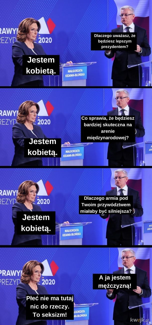 Platformerska debata na jednym memie