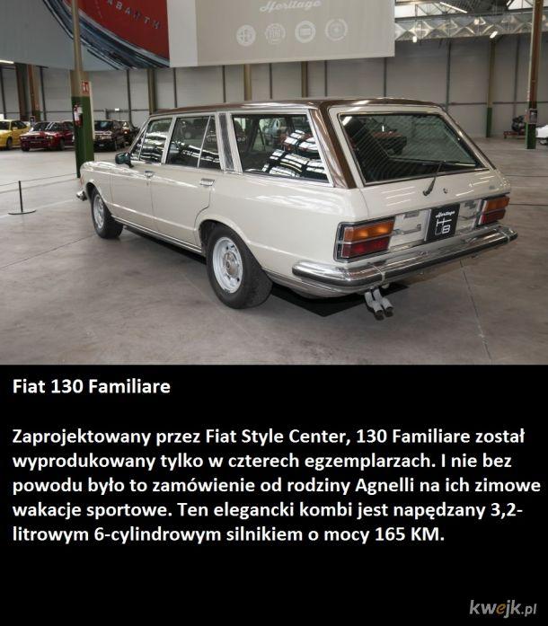 Departament pamięci Fiata i najciekawsze koncepty.