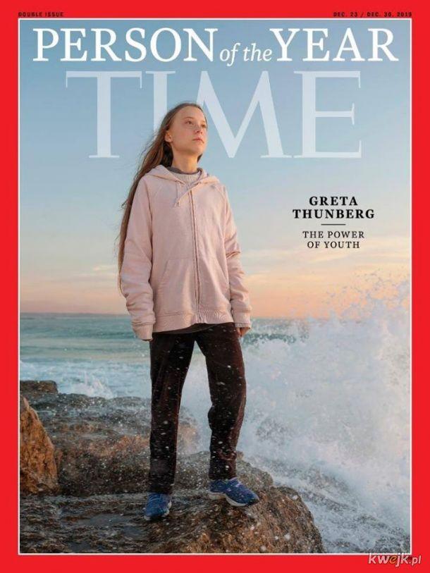 Greta Thunberg wybrana Człowiekiem Roku tygodnika Time