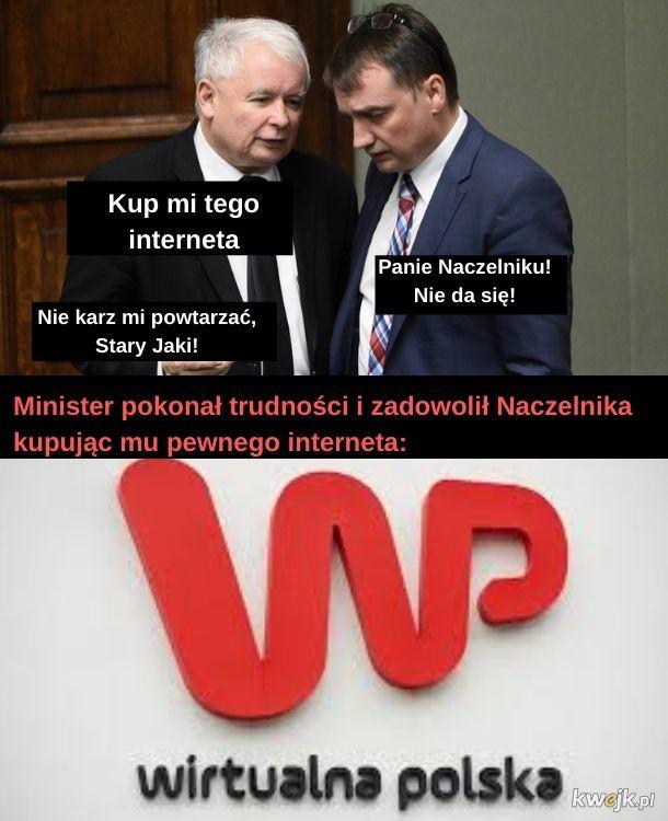 Lista płąc w WP jest w ministerstwie
