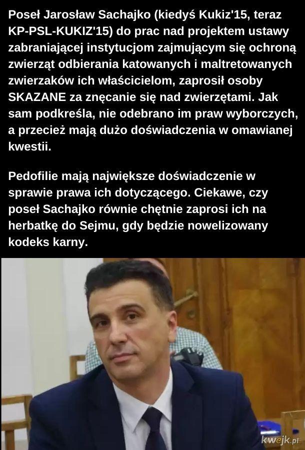 Takich ludzi  wybraliśmy do Sejmu