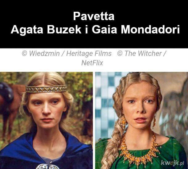 Jak wyglądają bohaterowie z Wiedźmina w ekranizacjach z 2001 i 2019, obrazek 6