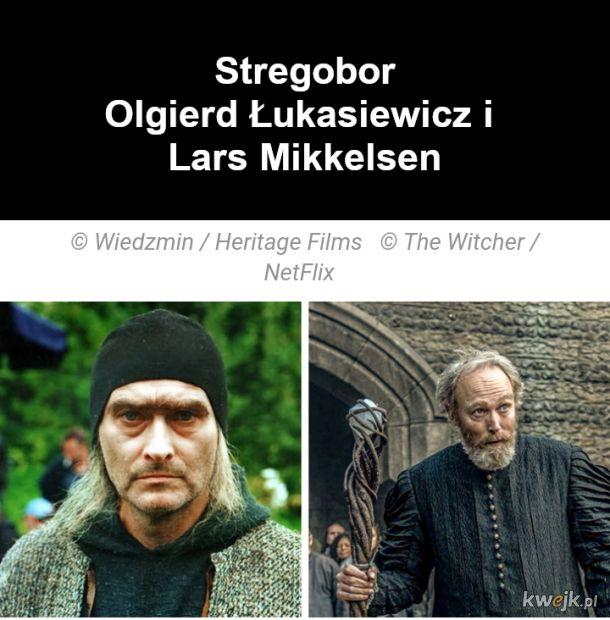 Jak wyglądają bohaterowie z Wiedźmina w ekranizacjach z 2001 i 2019, obrazek 11