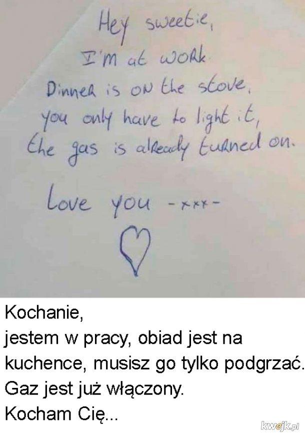 Co za miłość...