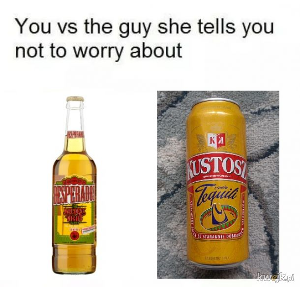 Kustosz Tequila napój Bogów!