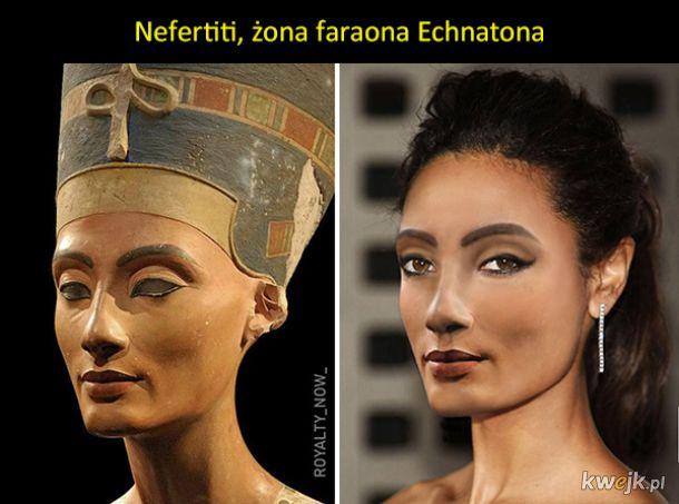Jak wyglądałyby postacie historyczne, gdyby żyły we współczesnych czasach (uwaga na kiepski Photoshop)