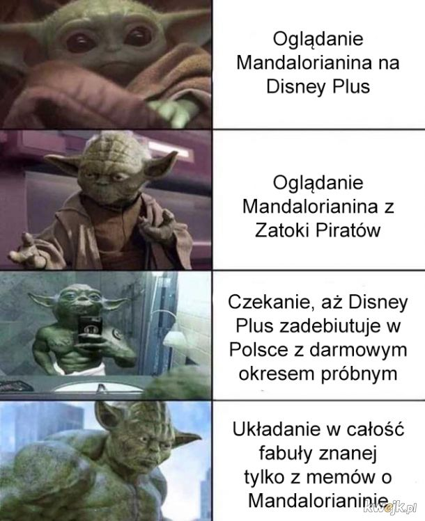 Oglądanie Mandalorianina