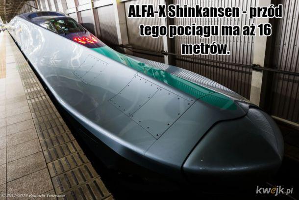 Symbol rozwoju Japonii - nowe projekty pociągów Shinkansen