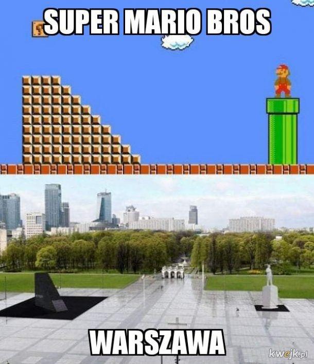 Super Mario, super Warszawa