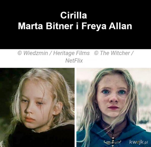 Jak wyglądają bohaterowie z Wiedźmina w ekranizacjach z 2001 i 2019, obrazek 4