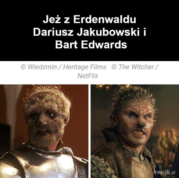 Jak wyglądają bohaterowie z Wiedźmina w ekranizacjach z 2001 i 2019, obrazek 8