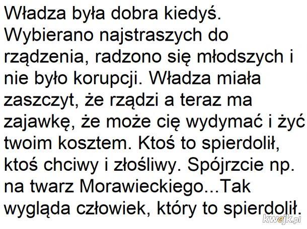 Wybacz Morawiecki to prawda