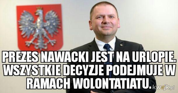 Sędzia Juszczyszyn został dziś zbanowany w ramach wolontariatu.