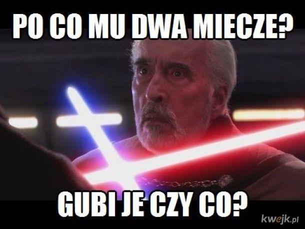"""Wiedźmińskie (bezserialowe) """"Gwiezdne wojny"""""""