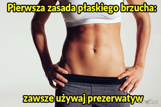 Zasada płaskiego brzucha