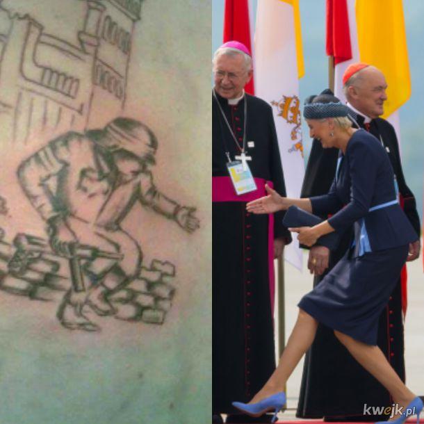 Patriotyczny Tatuaż ~ Prezydentowa